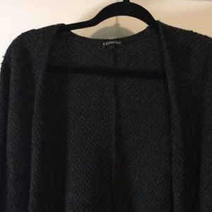 Express Tops - Charcoal knit express sweater